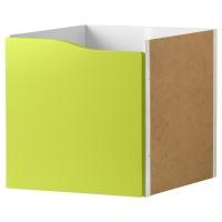 КАЛЛАКС Вставка с дверцей, светло-зеленый зеленый