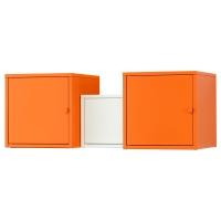 ЛИКСГУЛЬТ Комбинация д/хранения, оранжевый, белый