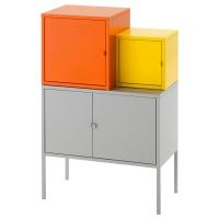 ЛИКСГУЛЬТ Комбинация д/хранения, оранжевый/желтый, серый