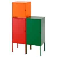 ЛИКСГУЛЬТ Комбинация д/хранения, красный/оранжевый, зеленый