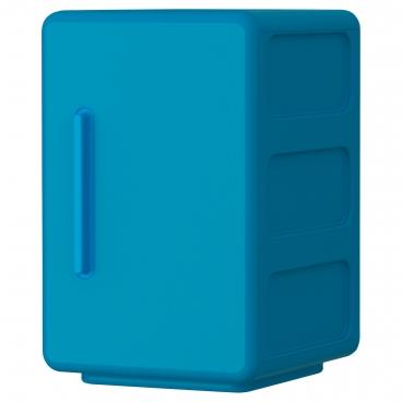 ЛЕЙЕН шкаф синий