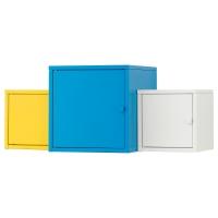 ЛИКСГУЛЬТ Комбинация д/хранения, белый/синий, желтый