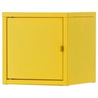 ЛИКСГУЛЬТ Шкаф, металлический, желтый