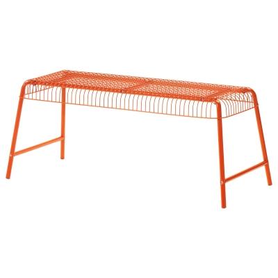 ВЭСТЕРОН скамья для дома / сада оранжевая