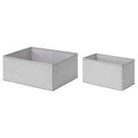 ШЭППА Коробка, 2 шт, серый