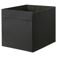 ДРЁНА Коробка, черный