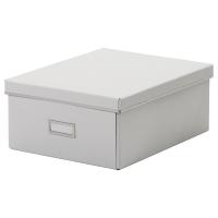 СМОРАССЕЛЬ Коробка с крышкой, белый