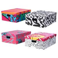 СПРИДД Коробка с крышкой, различные орнаменты