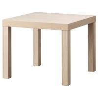 ЛАКК Придиванный столик, черно-коричневый