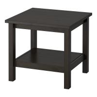 ХЕМНЭС Придиванный столик, черно-коричневый