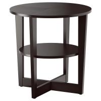 ВЕЙМОН Придиванный столик, черно-коричневый