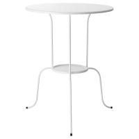 ЛИНДВЕД Придиванный столик, белый