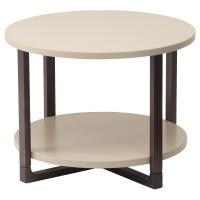 РИССНА Придиванный столик, бежевый