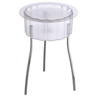 ХАТТЭН Придиванный столик, прозрачный