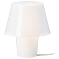 ГАВИК Лампа настольная, белый, матовое стекло