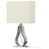 КЛАБ Лампа настольная, белый с оттенком