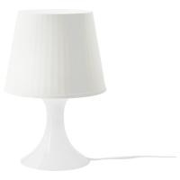 ЛАМПАН Лампа настольная, белый