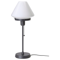 ЭЛЬВЕНГЕН Лампа настольная, белый