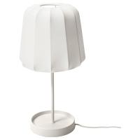 ВАРВ Лампа настольная, белый