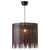 РОТВИК Подвесной светильник, бамбук, коричневый