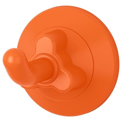 ЛОДДАН крючок с присоской оранжевый