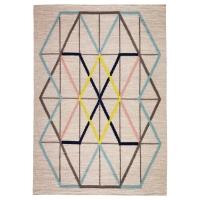 ИКЕА ПС 2014 Ковер, безворсовый, разноцветный ручная работа разноцветный